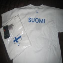 NIKE Suomi T-paita, lasten